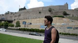 アキーラさん観察①旧ユーゴスラビア・マケドニア・スコピエの城塞,Citadel・Skopje,Macedonia