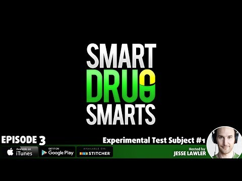 Episode 3 - Testing Modafinil on a Virgin Brain