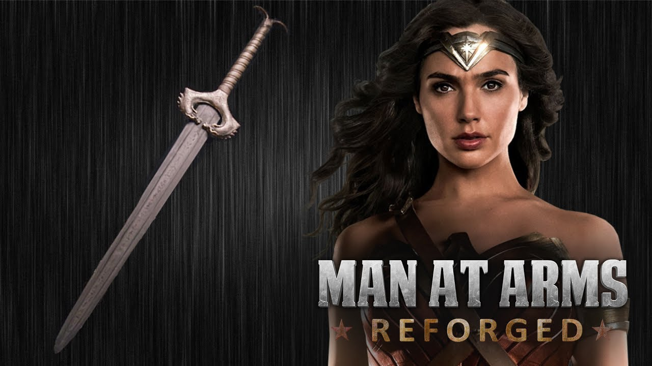 Making Wonder Woman's Sword, For Real