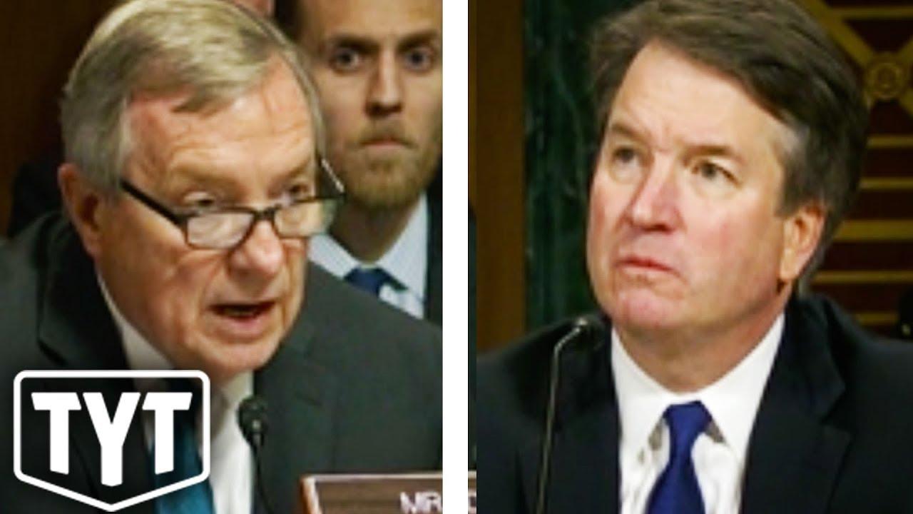 Democratic Senator Pressures Kavanaugh thumbnail