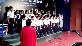 SingerTelma conducting National Anthems@.