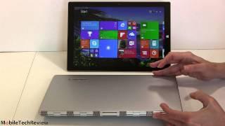 Lenovo Yoga 3 Pro vs. Microsoft Surface Pro 3 Comparison Smackdown
