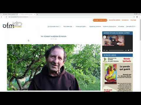 Le site web des Franciscains
