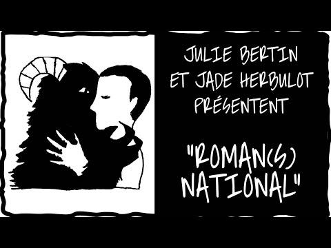 Julie Bertin et Jade Herbulot présentent Roman(s) national