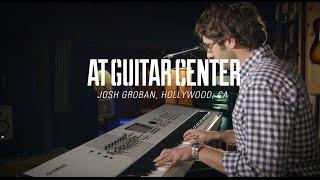 Josh Groban At Guitar Center