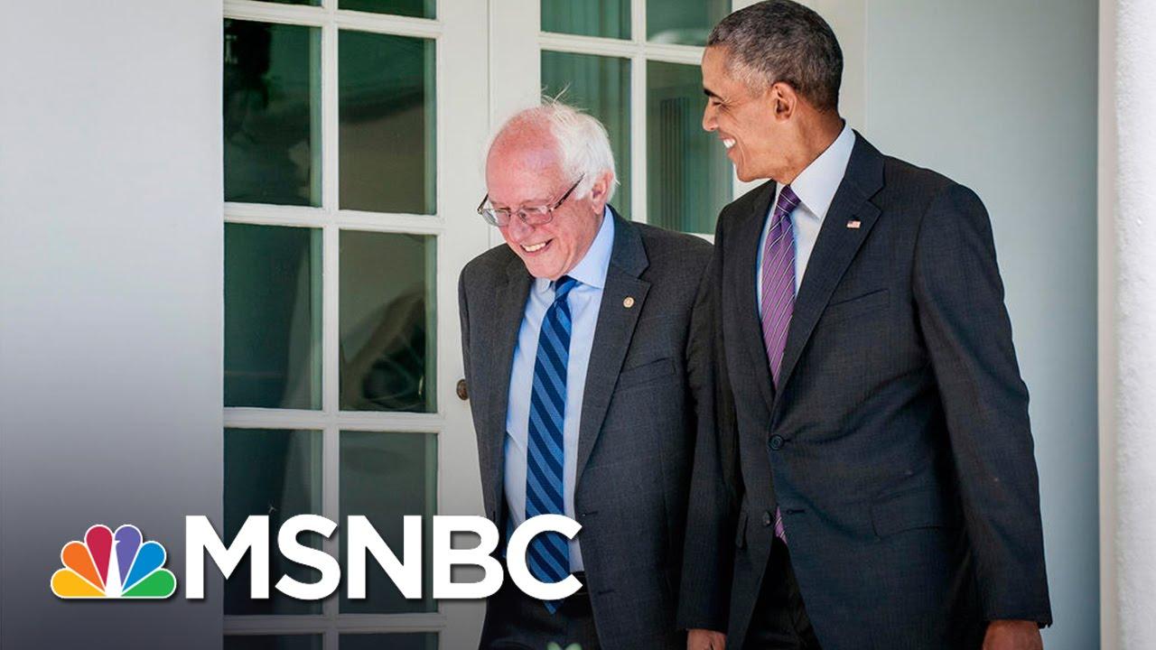 Bernie Sanders Speaks After Meeting With President Obama | MSNBC thumbnail