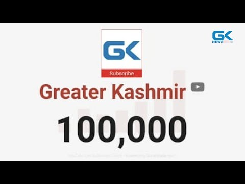 Greater Kashmir YouTube Channel Crosses 1 Lakh Subscribers Mark