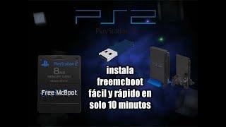 Como Instalar Free Mcboot En Tu Ps2 Fácil Y Rápido Sin Complicaciones