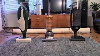 Flour Under The Carpet Test: Vorwerk VK135, Dyson DC40 mkII & Sebo Felix