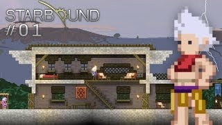 Scythe Plays Starbound - S1E01 - Epic Home Planet Spawn! (Let's Play Walkthrough)