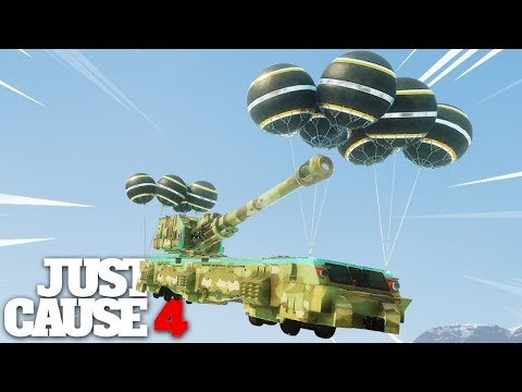 Just Cause 4 - SKY FORTRESS!