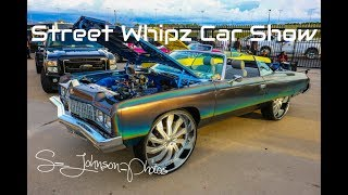 Street Whipz Car show 2k17(big rims,candy paint,lifted trucks,loud music,big motors)