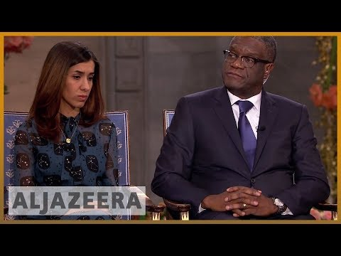 The Nobel Interview: Nadia Murad and Denis Mukwege | News Special