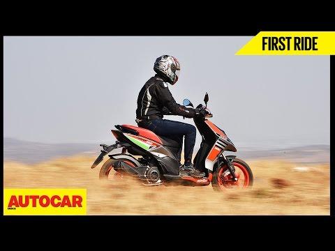 Aprilia SR150 Race | First Ride | Autocar India