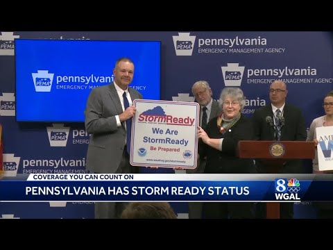 National Weather Service recognizes Pennsylvania for achieving 'StormReady' status