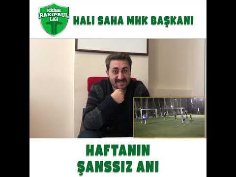 Halı Sahaların MHK Başkanı Arif Sevimli ile Haftanın Şanssız Anı sizlerle