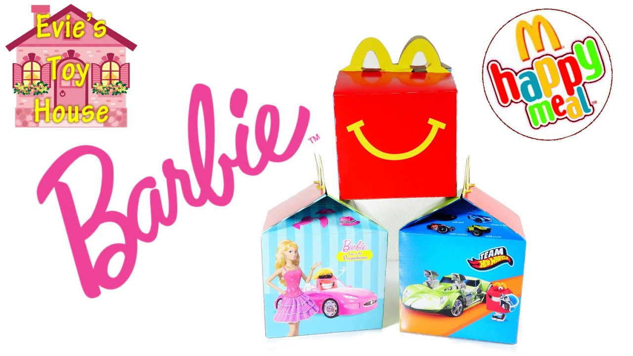 2015 McDonalds Happy Meal BARBIE Life in the Dreamhouse  - Complete Set | Evies Toy House