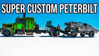 INSANE CUSTOM SEMI TRUCK! Built By Welder Up.