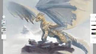 Dragon Illustration Demo - Part I: The Head By John McDavitt