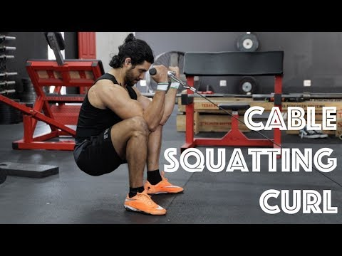 How To: Cable Squatting Curl