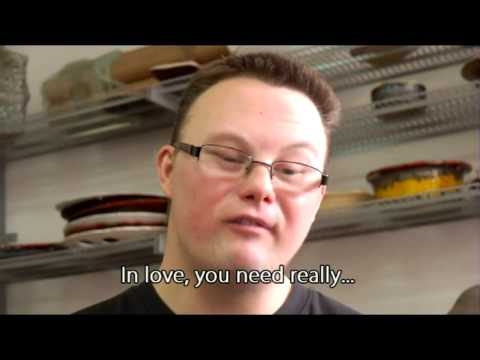 Watch video Polish Man with Down Syndrome About True Love