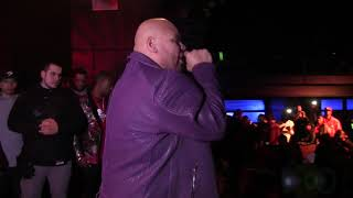 "FAT JOE performs ""Flow Joe"" at DJ Red Alert Birthday @ Highline Ballroom 11/21/18"