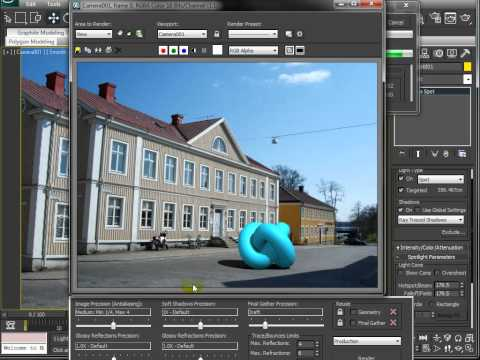 Ds Max Camera Matching Tutorial Play