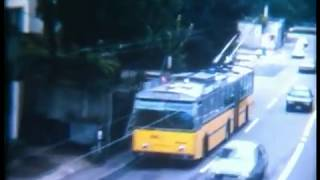 preview picture of video 'Schaffhausen Trolleybus 1985 (Super8 film)'