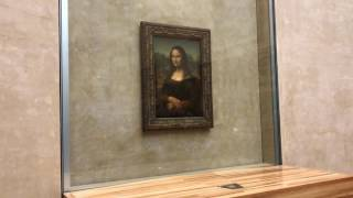 Mona Lisa, Louvre, Paris 360 view
