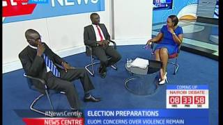 What is the role of the EU Observers in the Kenyan general elections in August? News Centre