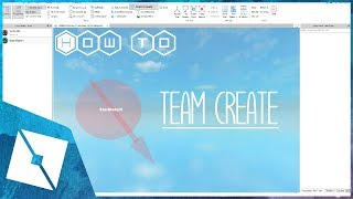 ROBLOX Tutorial | How To Team Create With Your Friends