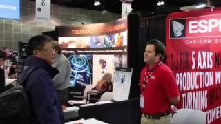 ESPRIT at SolidWorks World 2017