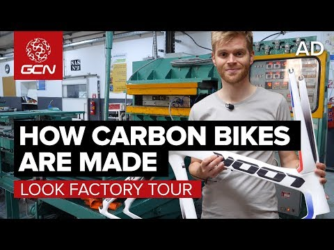 How Are Carbon Fibre Bikes Made? | LOOK Cycle Factory Tour mp3 yukle - MAHNI.BIZ