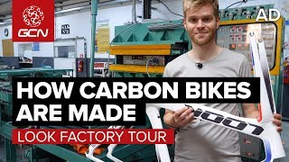 How Are Carbon Fibre Bikes Made? | LOOK Cycle Factory Tour