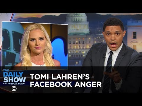 Tomi Lahren's Anger Lights Facebook on Fire: The Daily Show