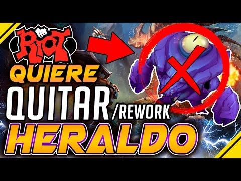 Riot quiere BORRAR o REWORK al HERALDO de la Grieta | Noticias League Of Legends LOL
