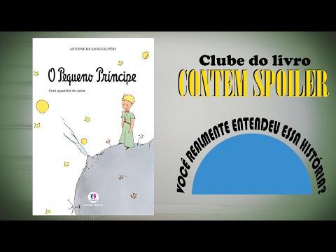 Clube do Livro - O PEQUENO PRÍNCIPE - Um livro que tem que ser analisado com atenção...