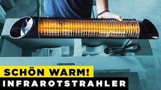 Heizstrahler Test & Montage 2020 im Bad  ( Infrarotstrahler Test )