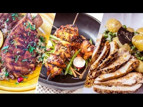 Tři kuřecí recepty