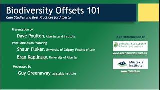 Biodiversity Offsets 101