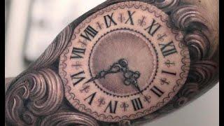Timeless Clock Tattoos
