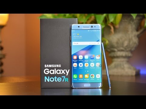 Samsung Galaxy Note 7 vs Galaxy Note 7R