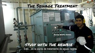 Sewage treatment Plant on board ships! Explained by an Engine newbie