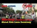 Dilarang! Kendaraan Berat Masuk Kota Lama Semarang