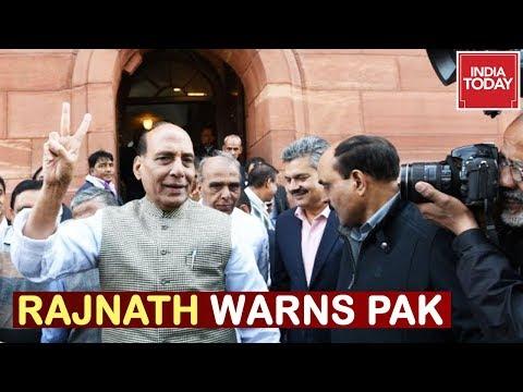 Pak Resorts To Warmongering, Rajnath Singh Makes Scathing Attack On Pakistan