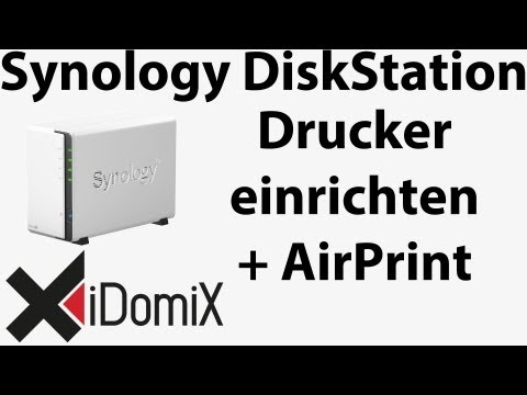 Synology DiskStation Drucker installieren und freigeben (AirPrint + Google Cloud Print)