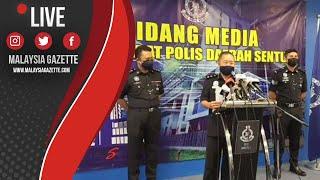 MGTV LIVE : Suspek Bergerak Secara Individu Dan Merupakan Peniaga Dalam Talian.- OCPD Sentul