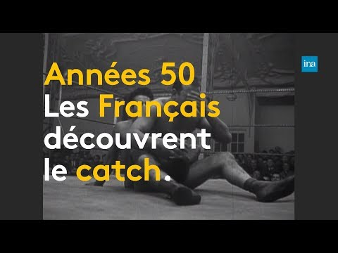 Années 50, quand la France découvrait le catch   Franceinfo INA