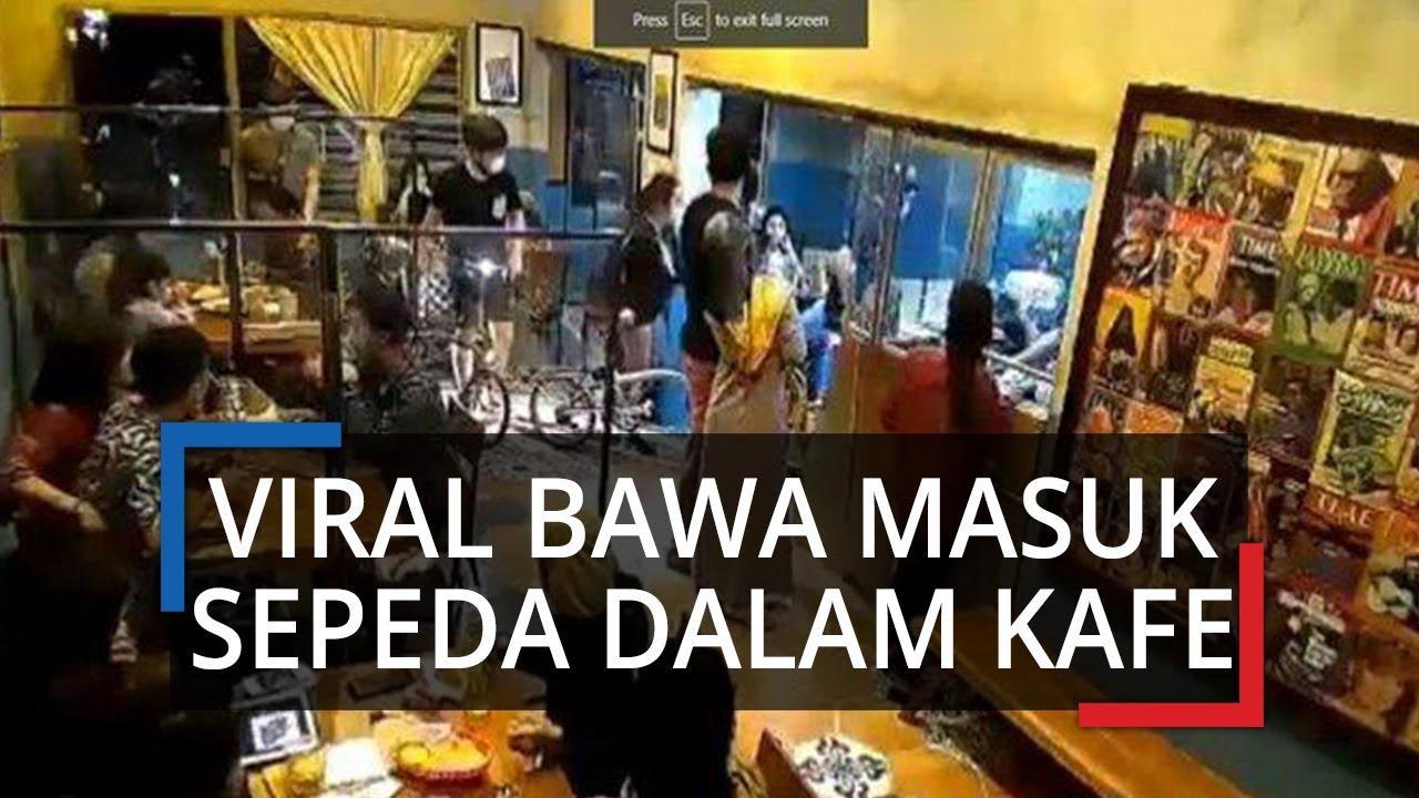 Viral Video Rombongan Gowes di Semarang Bawa Masuk