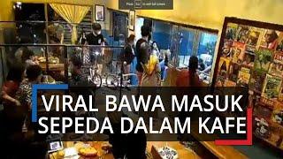 Viral Video Rombongan Gowes di Semarang Bawa Masuk Brompton ke Dalam Kafe: Ini Sepeda Mahal